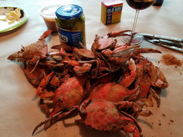 Crab Picking Feast - Easter Shore Experience-1